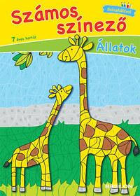 Számos színező - Állatok -  (Könyv)