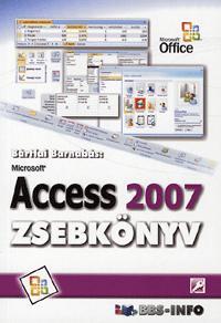 Bártfai Barnabás: Microsoft Access 2007 zsebkönyv -  (Könyv)