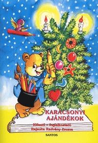 Radvány Zsuzsa: Karácsonyi ajándékok - Kifestő - foglalkoztató -  (Könyv)