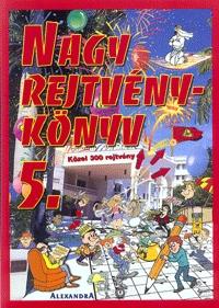 Kresz Károly: Nagy rejtvénykönyv 5. -  (Könyv)