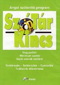SzóTárKincs - Angol szótanító program - Nagyszótár - Minimum szótár - Saját szavak szótára (Könyv)