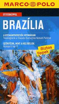 Petra Schaeber: Brazília - Marco Polo - Útitérképpel -  (Könyv)