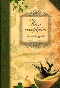 Házi receptjeim (4 féle borítóval) -  (Könyv)
