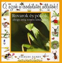 Telegdi Ágnes: Ó, azok a csodálatos állatok! - Rovarok és pókok - AHOGY MÉG SOSEM LÁTTAD ŐKET -  (Könyv)