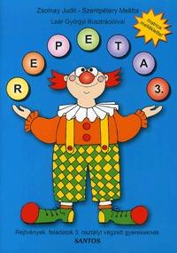 Zsolnay Judit, Szentpétery Melitta: Repeta 3. - Rejtvények, feladatok 3. osztályt végzett gyerekeknek -  (Könyv)