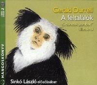 """Gerald Durrell: A feltalálók - Hangoskönyv - 2CD - Történetek """"emberi"""" állatokról - Sinkó László előadásában -  (Könyv)"""