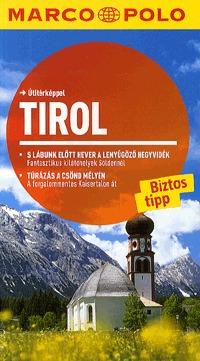 Tirol - Útitérképpel - Marco Polo -  (Könyv)