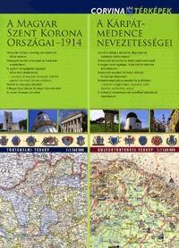 Corvina Kiadó: A Magyar Szent Korona országai 1914 - A Kárpát-medence nevezetességei - 1:1 160 000 - 1:1 160 000 -  (Könyv)