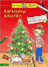 Uli Velte: Karácsonyi kifestőm - Barátnőm, Bori foglalkoztató füzet - Barátnőm, Bori foglalkoztató füzet -  (Könyv)