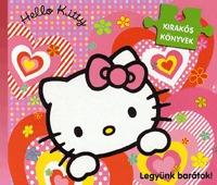 Hello Kitty - Legyünk barátok kirakós könyv -  (Könyv)