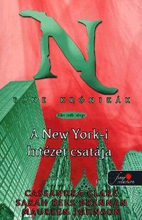 Cassandra Clare, Sarah Rees Brennan, Maureen Johnson: Bane krónikák 9. - A New York-i Intézet csatája -  (Könyv)