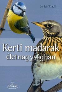 Daniela Strau?: Kerti madarak életnagyságban -  (Könyv)