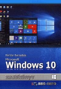 Bártfai Barnabás: Windows 10 zsebkönyv -  (Könyv)