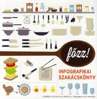 Gabriela Scolik: Főzz! - Infografikai szakácskönyv -  (Könyv)