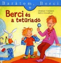 Christian Tielmann, Sabine Kraushaar: Berci és a tetűriadó - Barátom, Berci -  (Könyv)