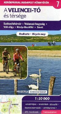 Frigoria Könyvkiadó: A Velencei-tó és térsége kerékpáros térkép 2., aktualizált kiadás - Kerékpártérkép, 2., aktualizált kiadás, 1:50000 -  (Könyv)