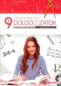 Tarcsay Tamás, Sörös Katalin: Dolgoz(z)atok matematikából kilencedikeseknek (CD melléklettel) -  (Könyv)