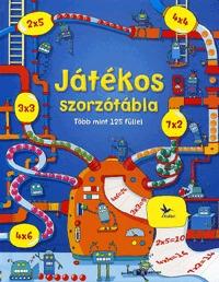 Usborne: Játékos szorzótábla - Több mint 125 füllel -  (Könyv)