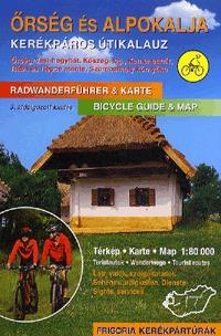 Őrség és Alpokalja kerékpáros útikalauz - 3. átdolgozott kiadás -  (Könyv)