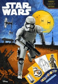 Star Wars - Színezőkönyv matricákkal -  (Könyv)