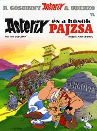 Albert Uderzo, René Goscinny: Asterix 11. - Asterix és a hősök pajzsa -  (Könyv)