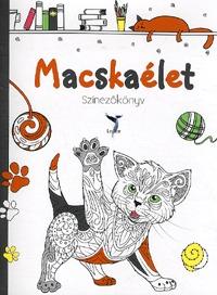 Macskaélet Színezőkönyv -  (Könyv)