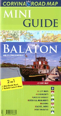 Corvina Kiadó: Mini Guide - Balaton (útikalauz és térkép) -  (Könyv)