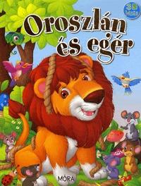 Oroszlán és egér - 3D mese -  (Könyv)