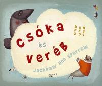 Kun Fruzsina: Csóka és veréb - Jackdaw and sparrow -  (Könyv)