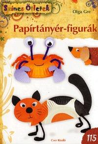 Olga Gre: Papírtányér-figurák -  (Könyv)