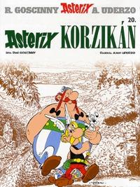 René Goscinny, Albert Uderzo: Asterix 20. - Asterix Korzikán -  (Könyv)