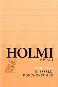 Holmi-antológia II. - 1989-2014 -  (Könyv)