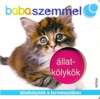 Állatkölykök - babaszemmel - Állatkölykök a természetben -  (Könyv)