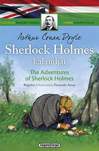 Arthur Conan Doyle: Sherlock Holmes kalandjai - Klasszikusok magyarul-angolul -  (Könyv)