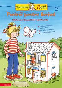 Pontról pontra Borival - Barátnőm, Bori foglalkoztató -  (Könyv)