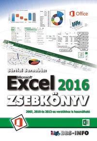 Bártfai Barnabás: Excel 2016 zsebkönyv -  (Könyv)