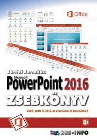 Bártfai Barnabás: PowerPoint 2016 zsebkönyv -  (Könyv)