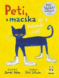 Eric Litwin: Peti, a macska és a hófehér cipő -  (Könyv)