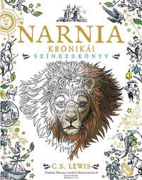 C. S. Lewis: Narnia krónikái - Színezőkönyv - Pauline Baynes eredeti illusztrációival -  (Könyv)