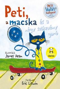 Eric Litwin: Peti, a macska és a négy szökevény gomb -  (Könyv)