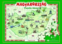 Magyarország puzzle-könyv -  (Könyv)