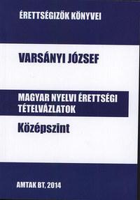 Varsányi József: Magyar nyelvi érettségi tételvázlatok középszint -  (Könyv)