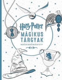 Várlaki Tibor (szerk.): Harry Potter - Mágikus tárgyak színezőkönyv -  (Könyv)
