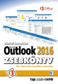 Bártfai Barnabás: Outlook 2016 zsebkönyv -  (Könyv)