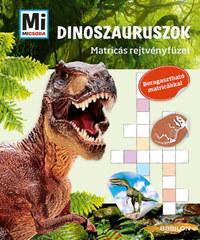 Mi Micsoda Matricás rejtvényfüzet - Dinoszauruszok -  (Könyv)
