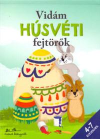 Korsós Szabina: Vidám Húsvéti fejtörők - 4-7 éveseknek -  (Könyv)