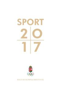 Sport 2017 -  (Könyv)