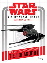 Star Wars: Az utolsó jedik - Kézikönyv és makett -  (Könyv)