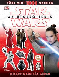 Star Wars - Az utolsó jedik - A nagy matricás album -  (Könyv)