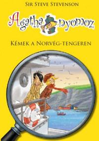 Sir Steve Stevenson: Agatha nyomoz 10. - Kémek a Norvég-tengeren -  (Könyv)
